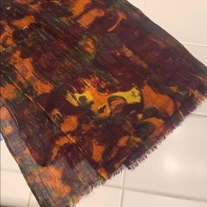 Simply Vera Wang Autumn Colored Scarf
